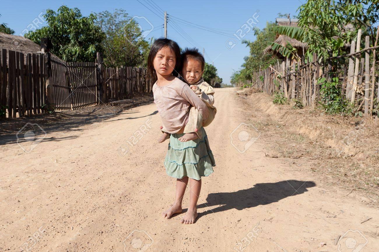Children in poverty Stock Photo - 9301459