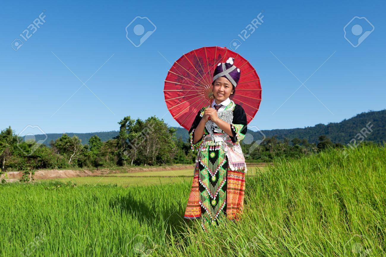 Portrait Hmong from Laos - 10458002