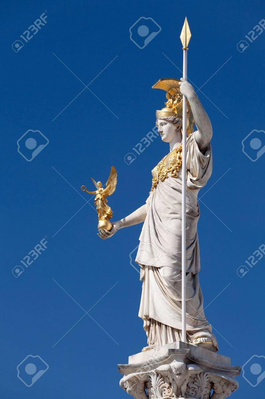 athena goddess of greek mythology stock photo picture and