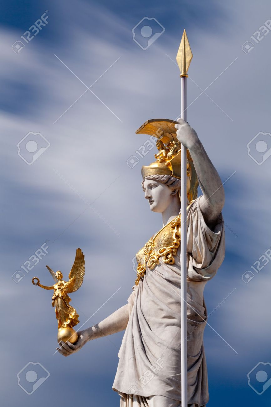 Athena, goddess of greek mythology - 14791969