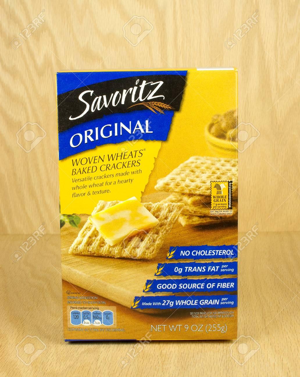 River Falls Wisconsin August 26 2017 A Box Of Savoritz Brand