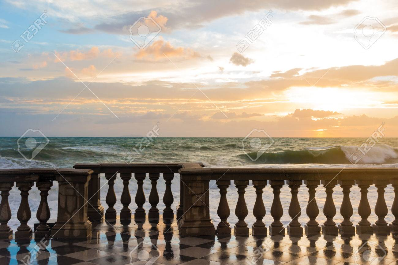 The Terrazza Mascagni Is A Wide Sinuous, Suggestive Belvedere ...
