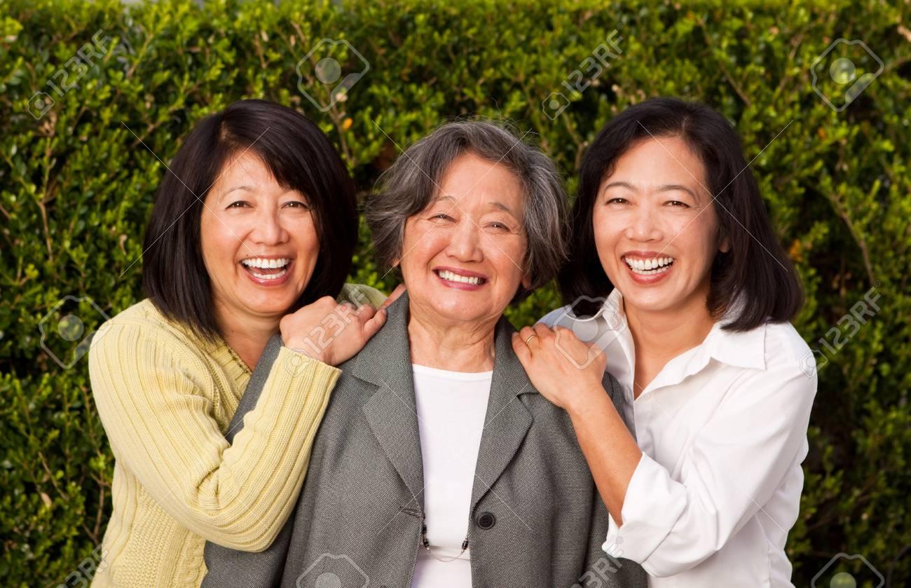 Adult asian mature