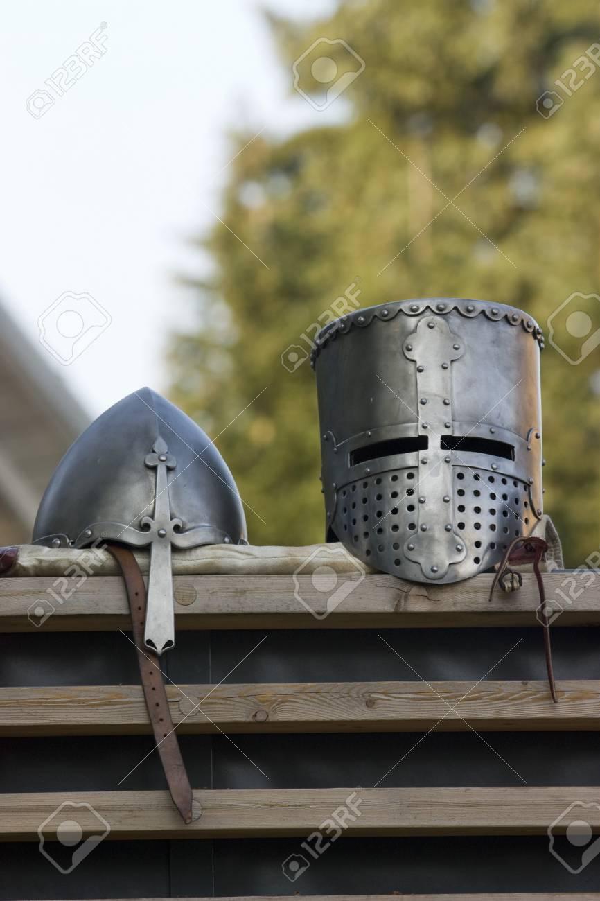 Nice medieval helmet for ancient gladiator Stock Photo - 7521463