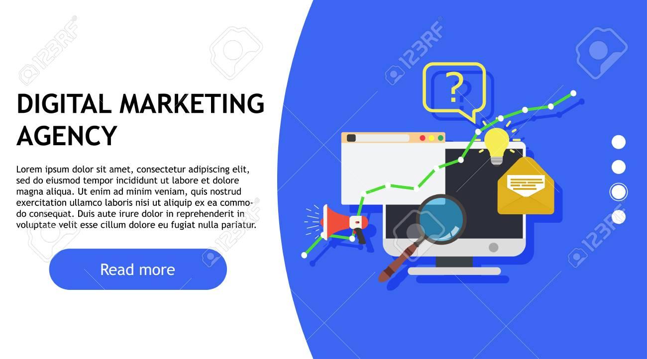 Digital marketing agency creative design business promotion