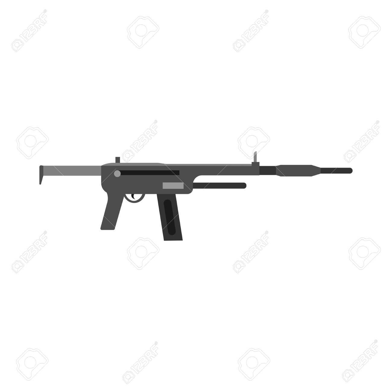 Weapon Equipment Symbol Protection Arsenal Vector Black Power