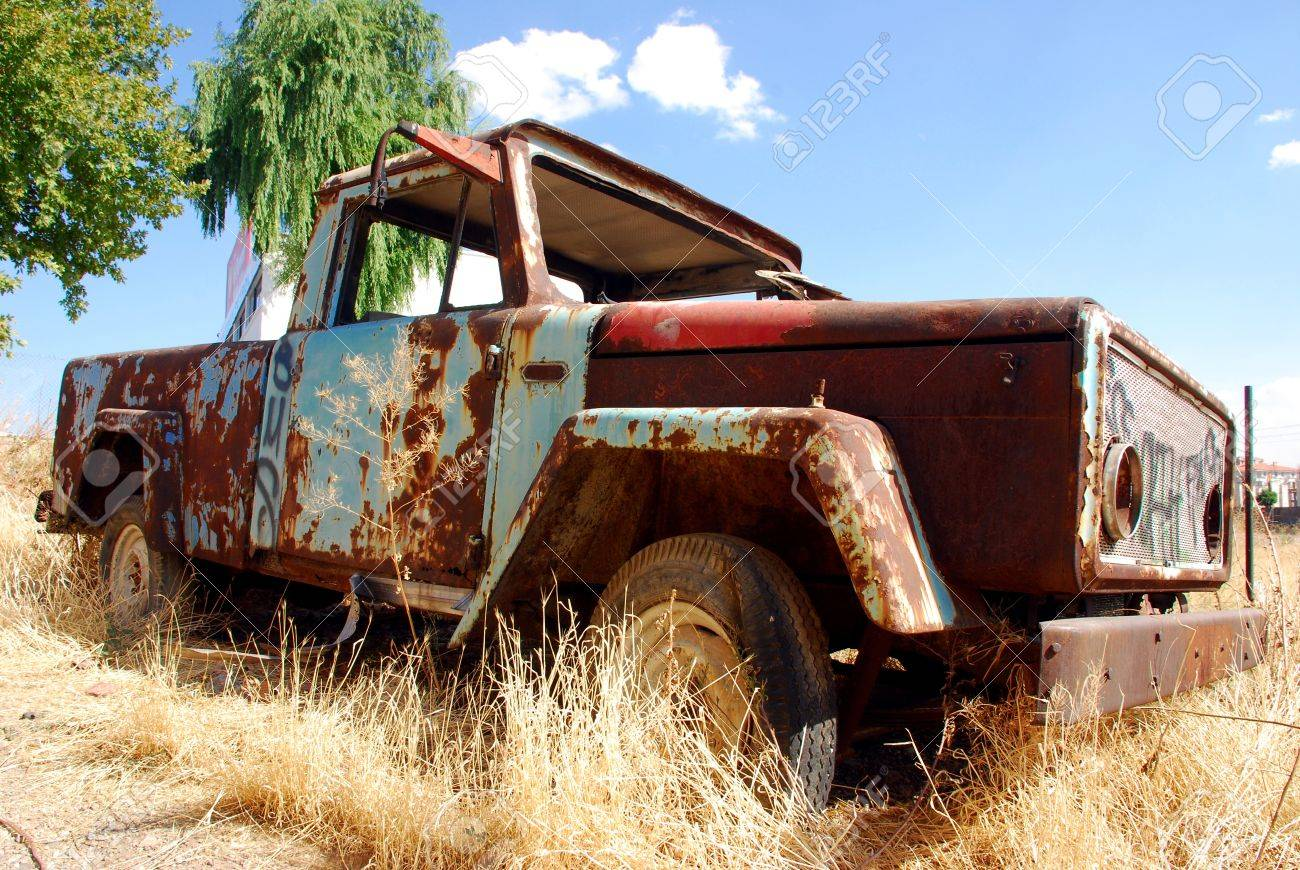 abandoned truck Stock Photo - 8352227