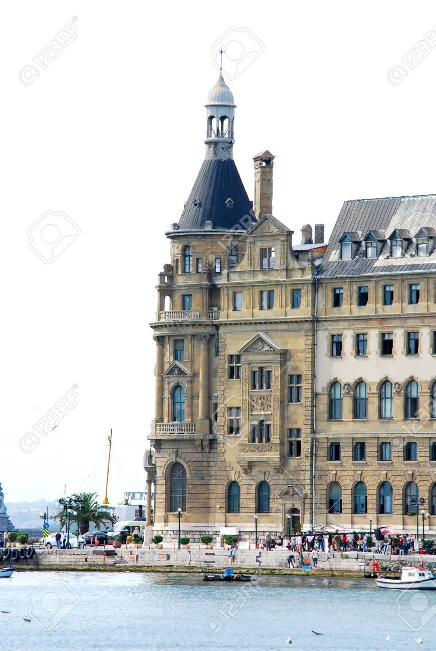 Haydarpasa central station building  Istanbul - Turkey Stock Photo - 16586384
