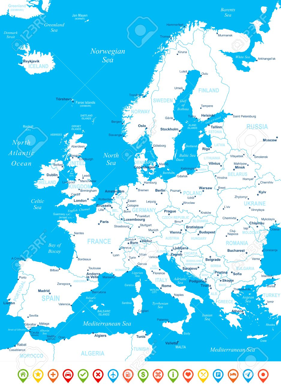 225 hungary vector map stock vector illustration and royalty free