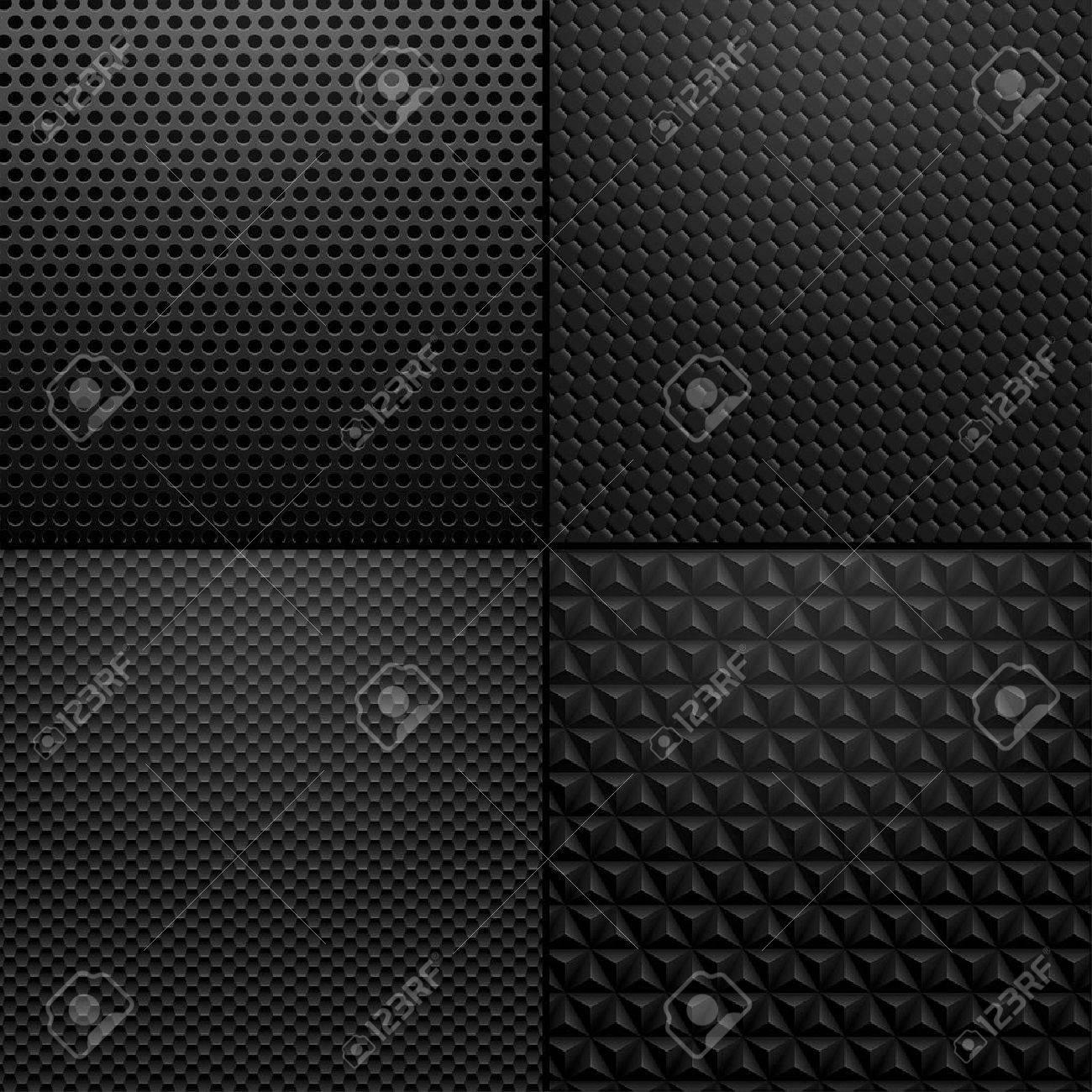 Carbon And Metallic Texture