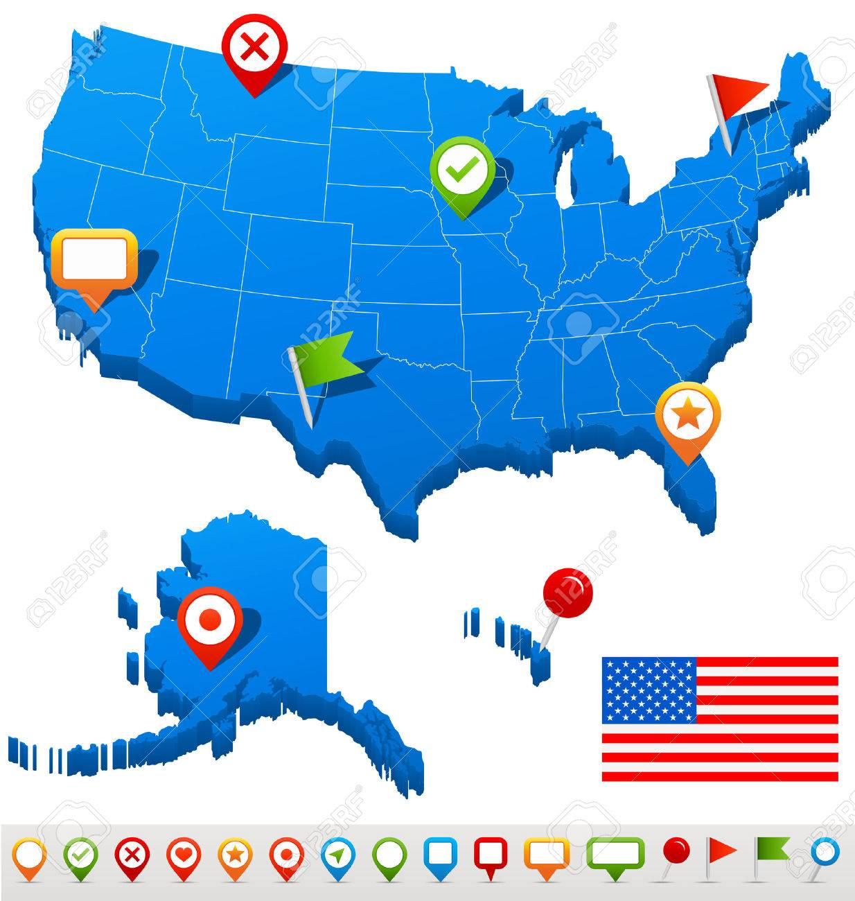 United States Of America USA Free Maps Free Blank Maps Free Usa - Free editable us map powerpoint template