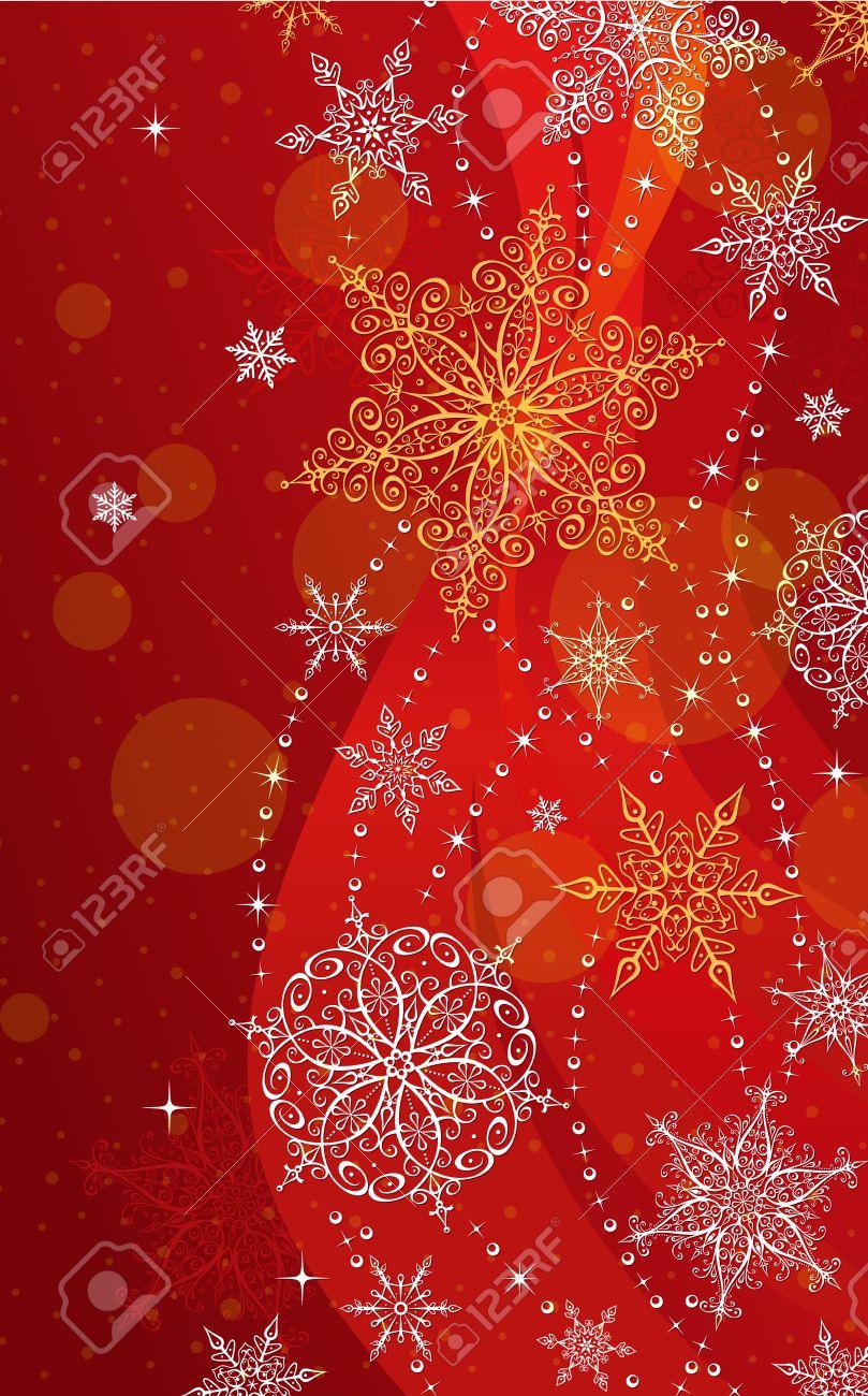 christmas vertical greeting card illustration vector illustration