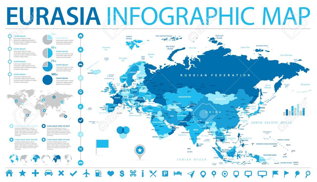Eurasia europa russia china india indonesia thailand map detailed eurasia europa russia china india indonesia thailand map detailed vector illustration stock vector 87107393 gumiabroncs Choice Image
