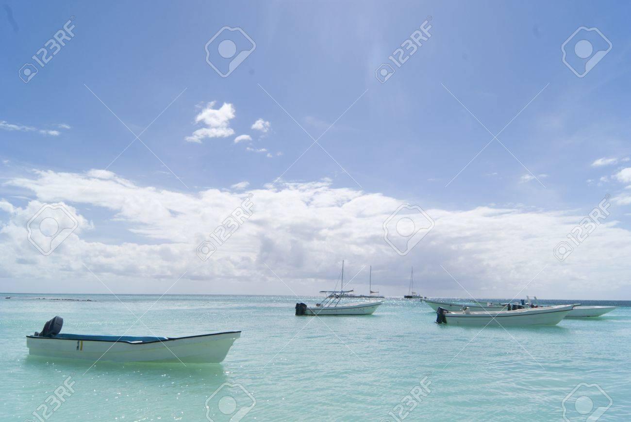 Nice day on carribean sea Stock Photo - 8562209
