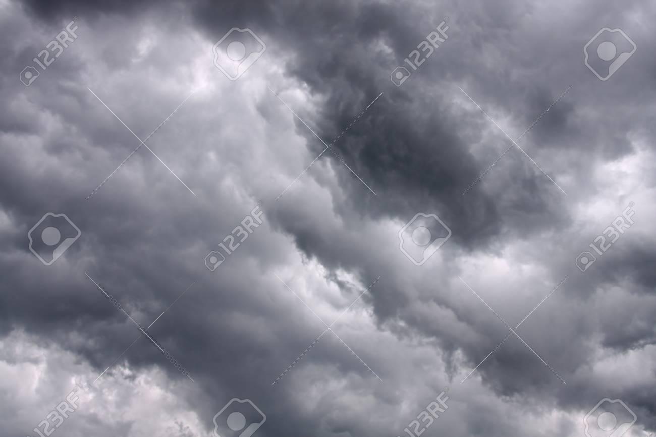 Dark stormy clouds - 7152255