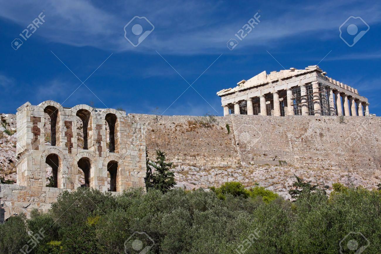 View on Acropolis, Athens, Greece - 12619881