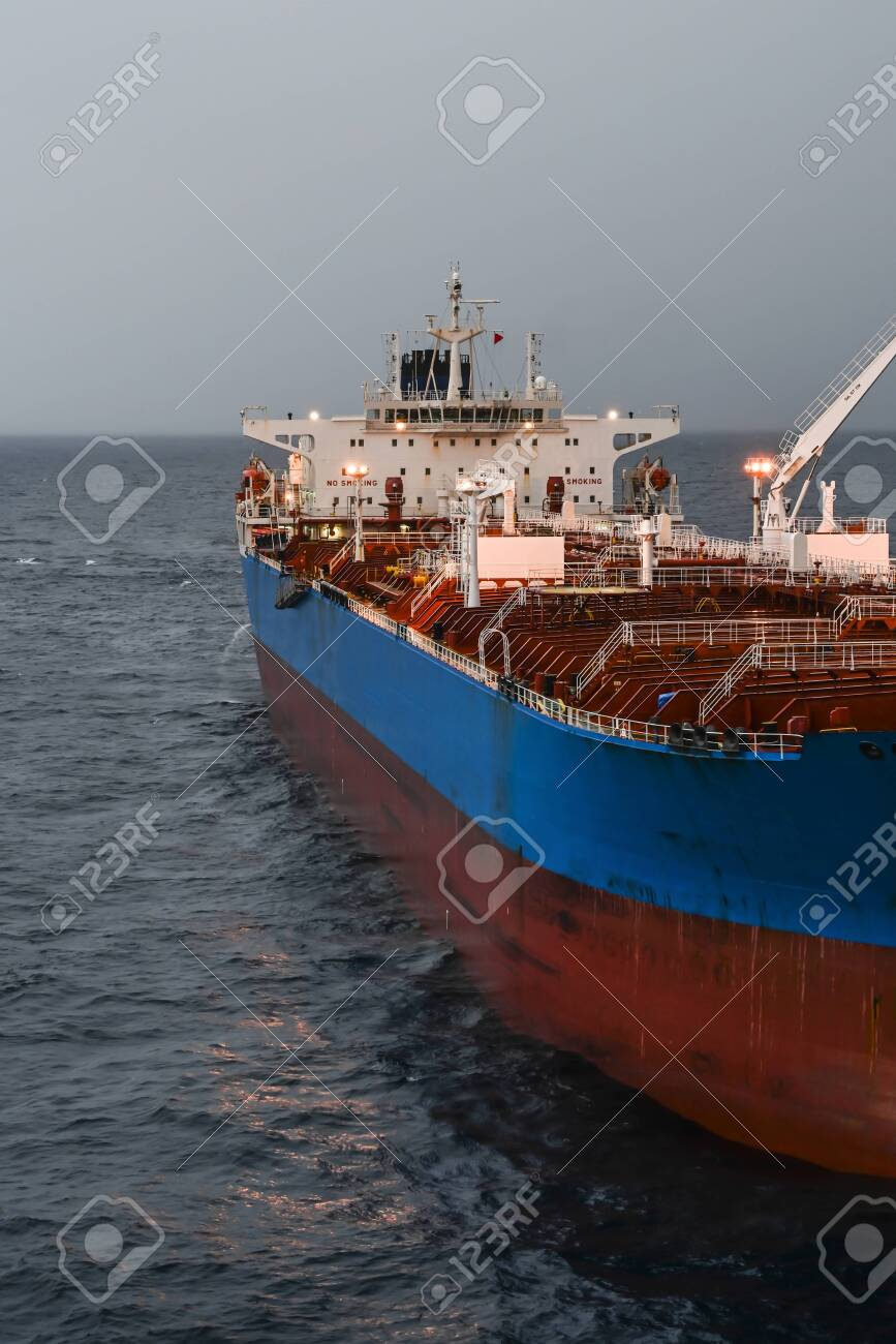 The oil tanker in the high sea - 150517255