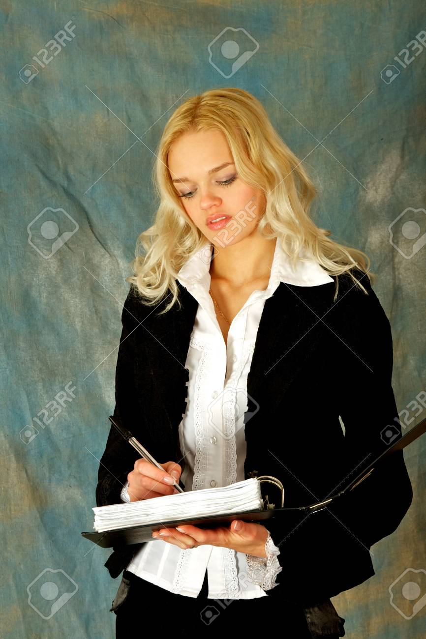 Young, beautiful, harmonous, blonde sexual Stock Photo - 17065833