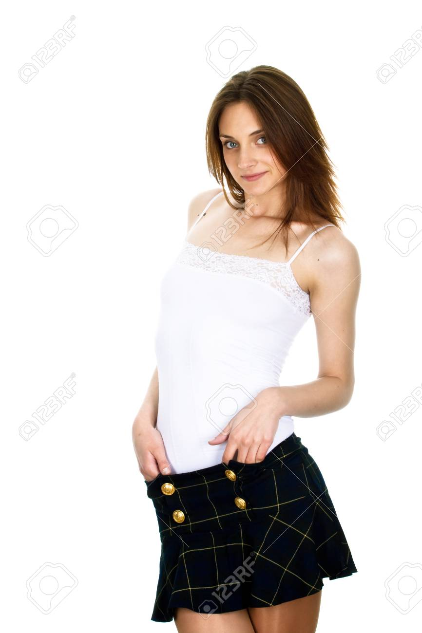 Picture of the young, beautiful  girl Stock Photo - 19041117