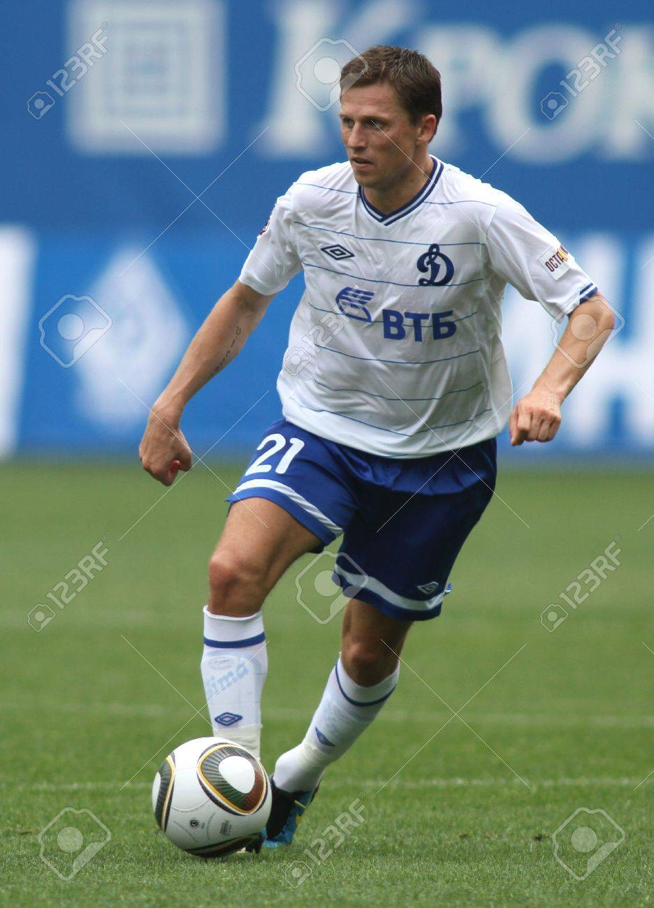 MOSCOW JULY 3 Dinamo s Midfielder Igor Semshov In The VTB