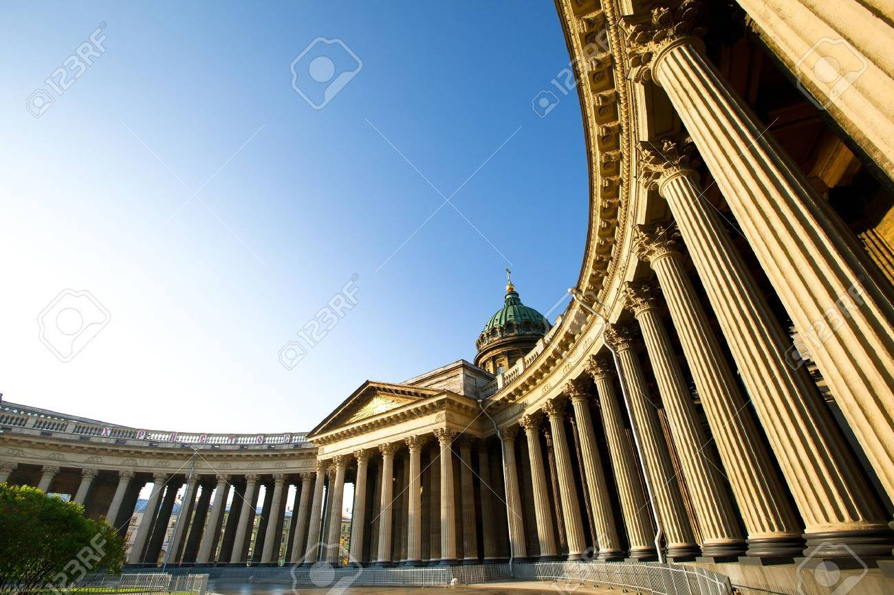 Kazan Cathedral in St Petersburg, Russia Stock Photo - 14934813