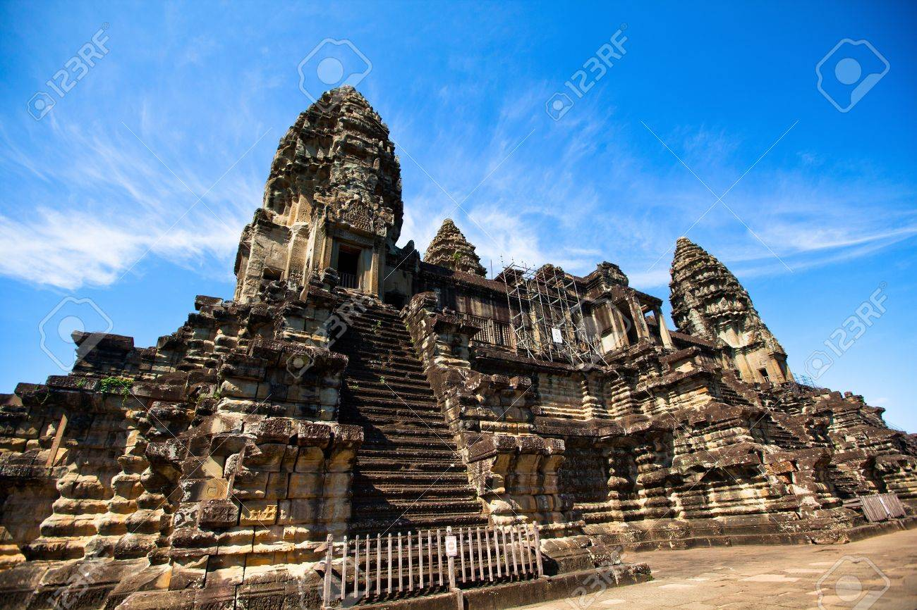 Angkor wat is the largest hindu temple complex and the largest angkor wat is the largest hindu temple complex and the largest religious monument in the world it has become a symbol of cambodia appearing on its biocorpaavc Gallery