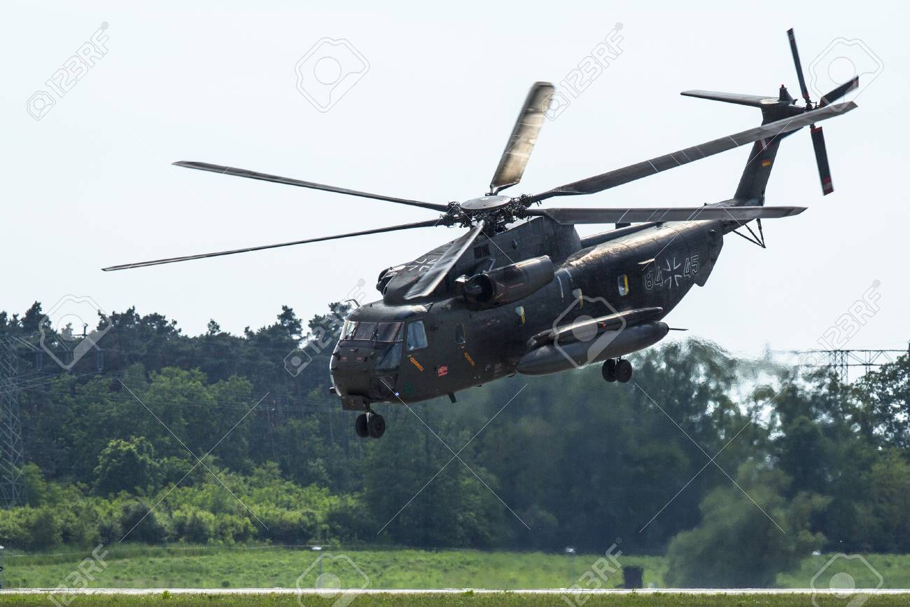 Elicottero Ch : Berlino germania maggio sikorsky ch sea stallion è