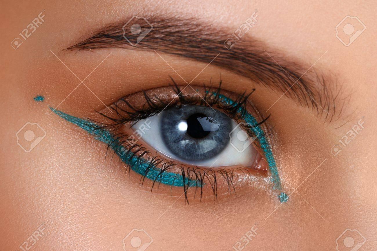 Blaue Augen Augen Makeup Schöne Augen Make Up Ferien Make Up