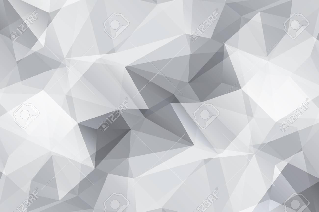 Abstrait Geometrique Moderne Gris Fond Triangulaire Papier Peint