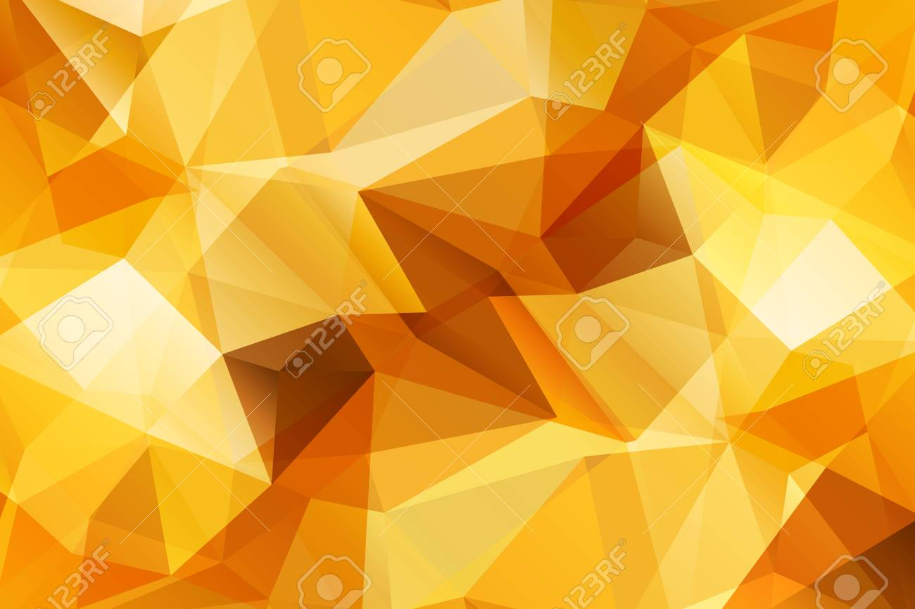 88771170 orange modern geometrical abstract background triangular backdrop bright wallpaper geometric