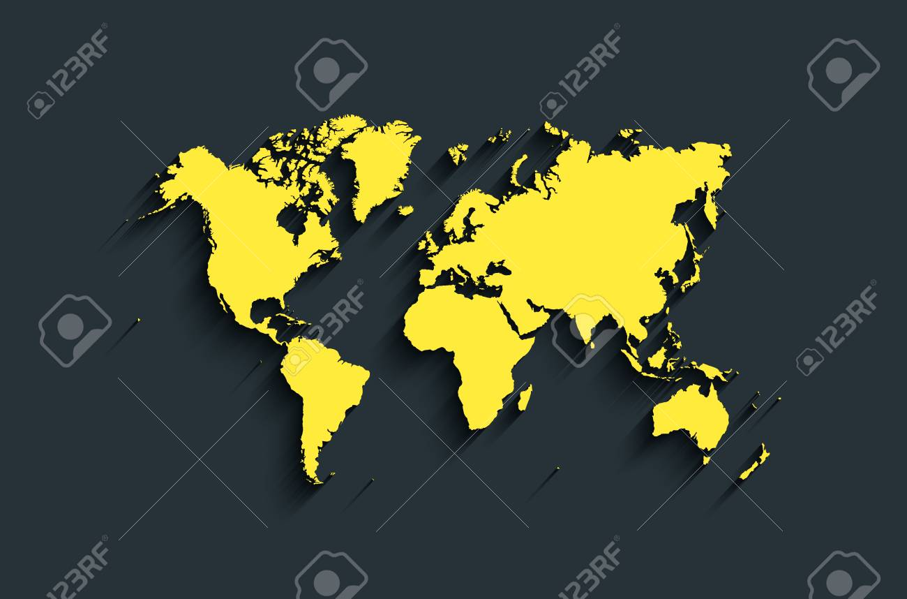 Flat world map abstract background for wallpaper banner design flat world map abstract background for wallpaper banner design concept clearly template gumiabroncs Image collections