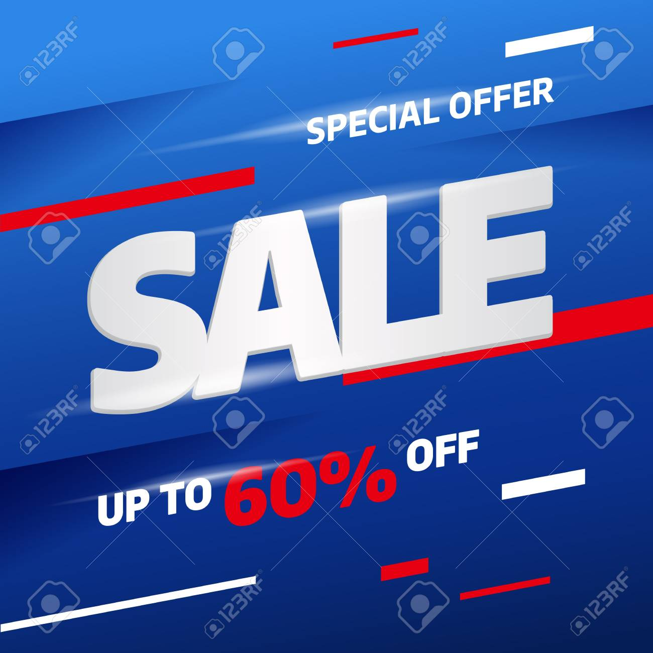 sale banner template design big sale special offer vector