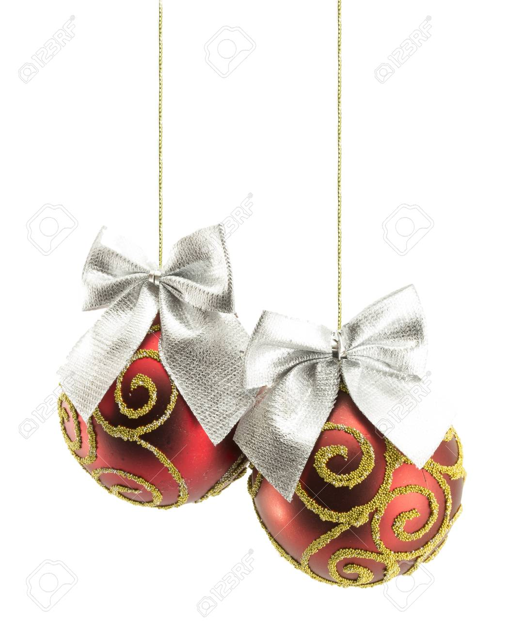 Christmas ball isolated on white background Stock Photo - 16793354