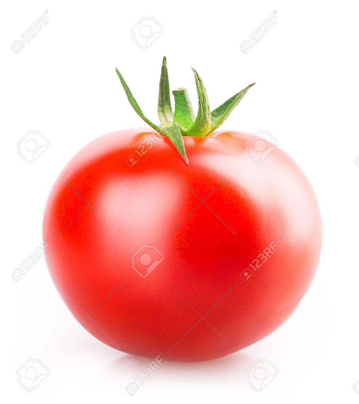 tomato Isolated on white background Standard-Bild - 36795261