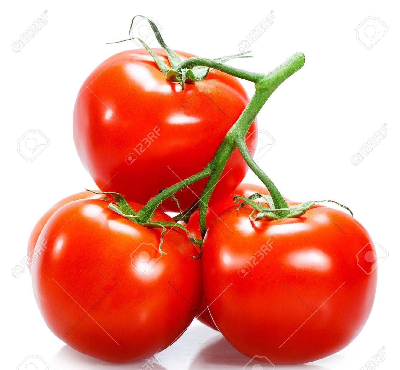 tomatoes Isolated on white background - 51408141