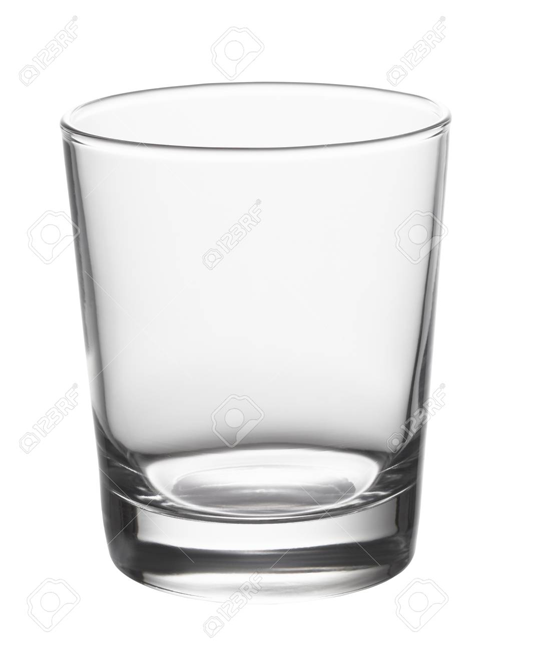 Empty glass isolated on white background - 58429620