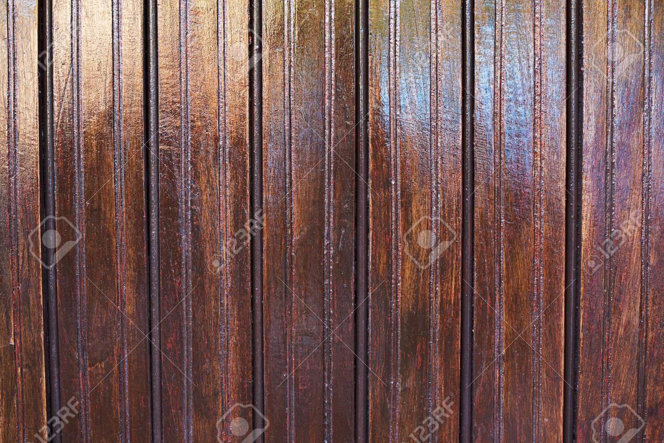 Come Pulire Il Legno Vecchio priorità bassa di legno vecchio marrone lucido. struttura in legno lucidato