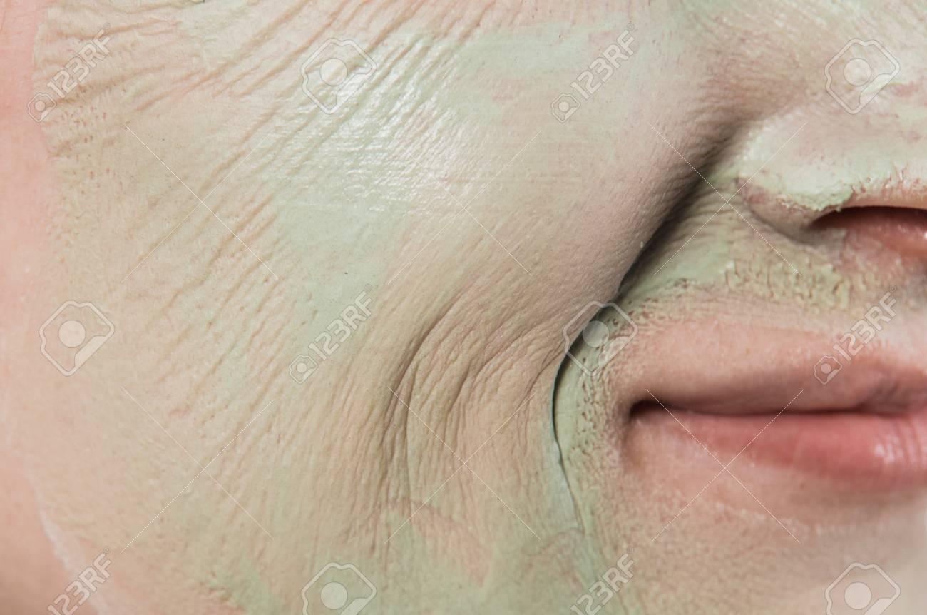 Face Pores Close Up
