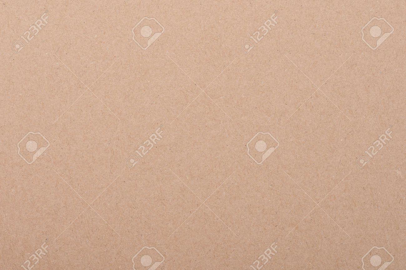 Texture of clean beige color carton paper background - 171393673