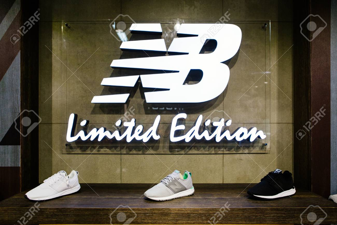 new york various colors premium selection MADRID, SPAIN - SEPTEMBER 9 2018: New Balance athletic shoes..