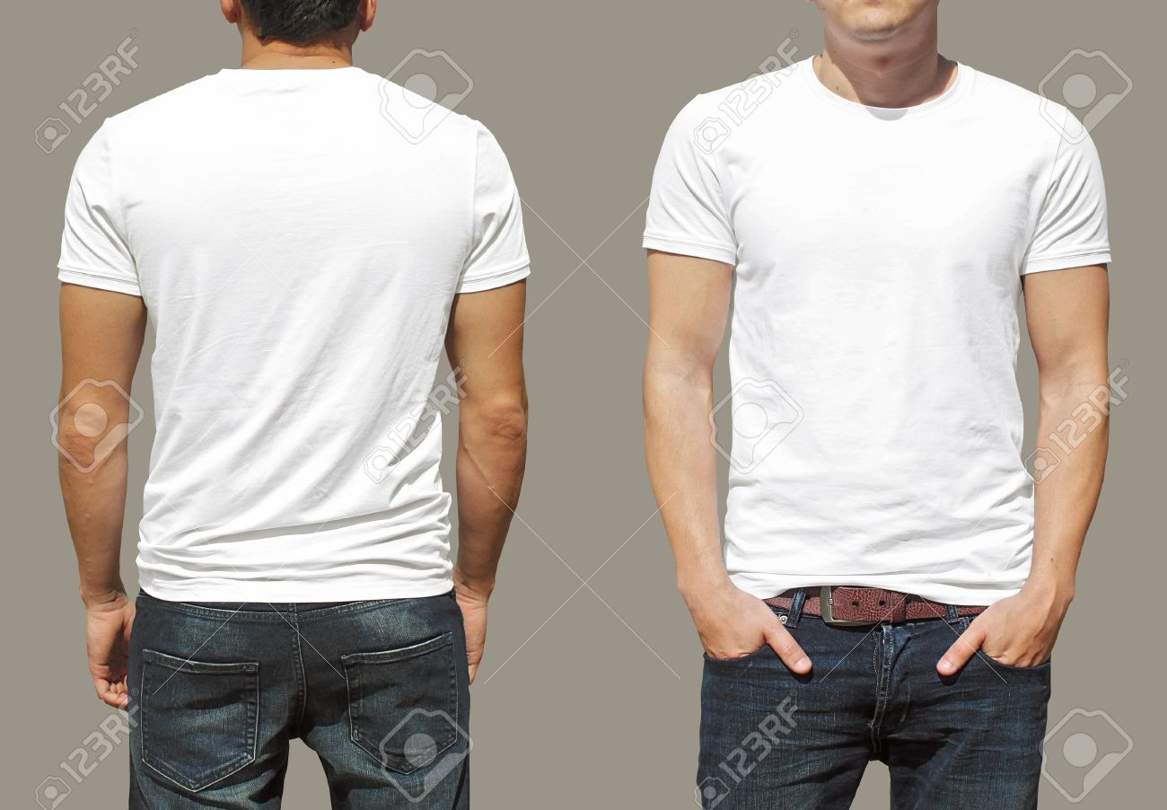 T Shirt Template Stock Photo Picture And Royalty Free Image Image
