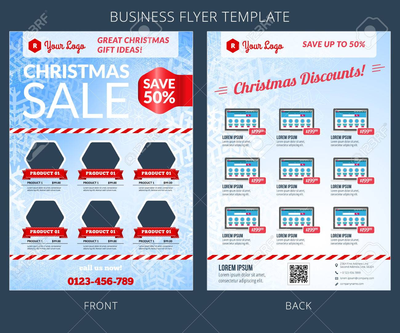 christmas postcards ideas about psd flyer on christmas vector business flyer template eps10 royalty for