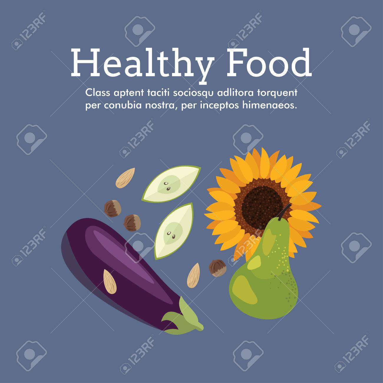 Poster design health - World Health Day Celebrating Card Or Poster Design Healthy Food Stock Vector 38481070