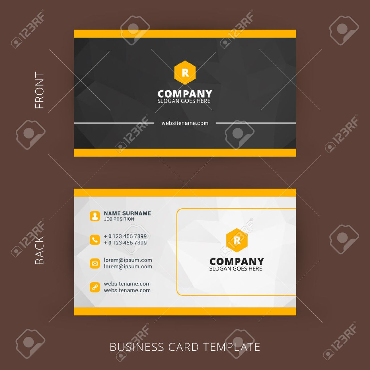 Creative and clean vector business card template royalty free creative and clean vector business card template stock vector 42265829 accmission Gallery