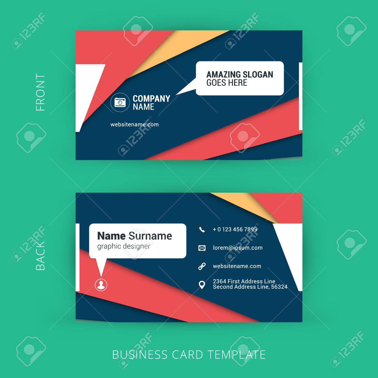Business Card Background Templates Images - Templates Example Free ...