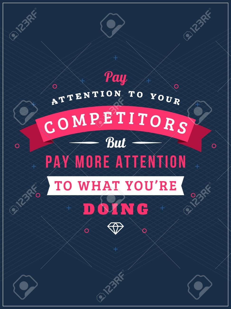 Graphic design poster quotes - Inspirational And Motivational Quotes Typographic Poster Design In Flat Style Vector Template For Print Design
