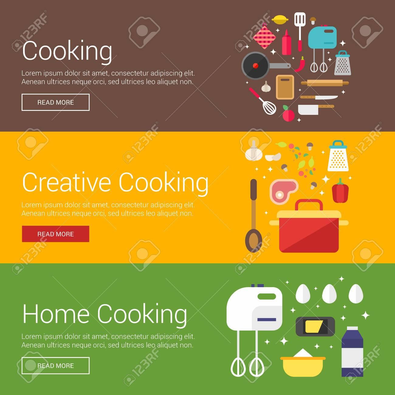 Cocina. Cocina Creativa. Cocina Casera. Conceptos Planos De Diseño ...
