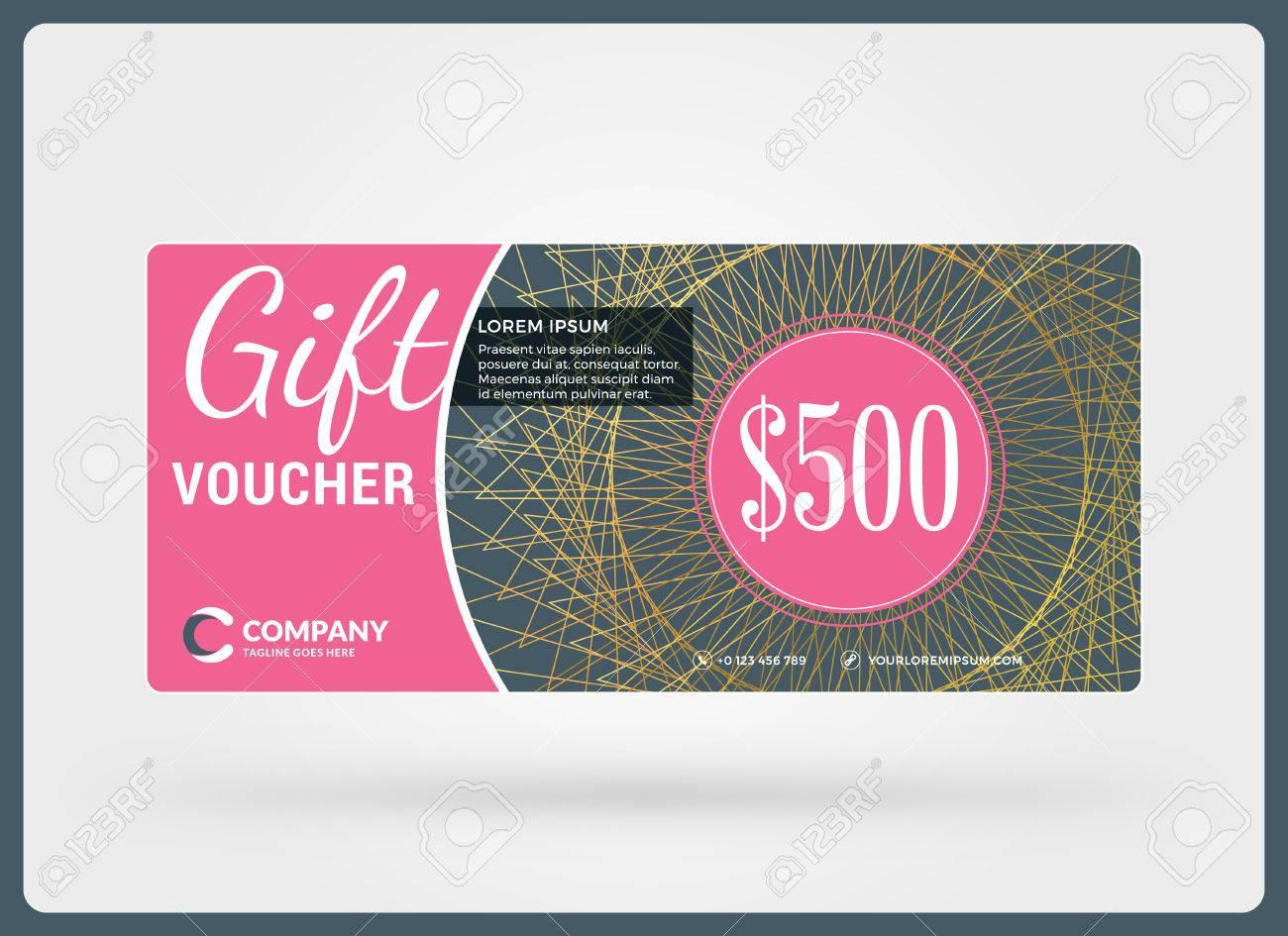 gift voucher design template discount card gift certificate