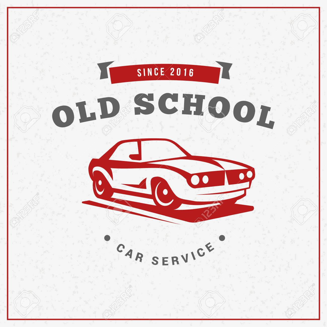 Design car club logo - Classic Car Logo Emblem Badge Service Car Repair Car Restoration And Car