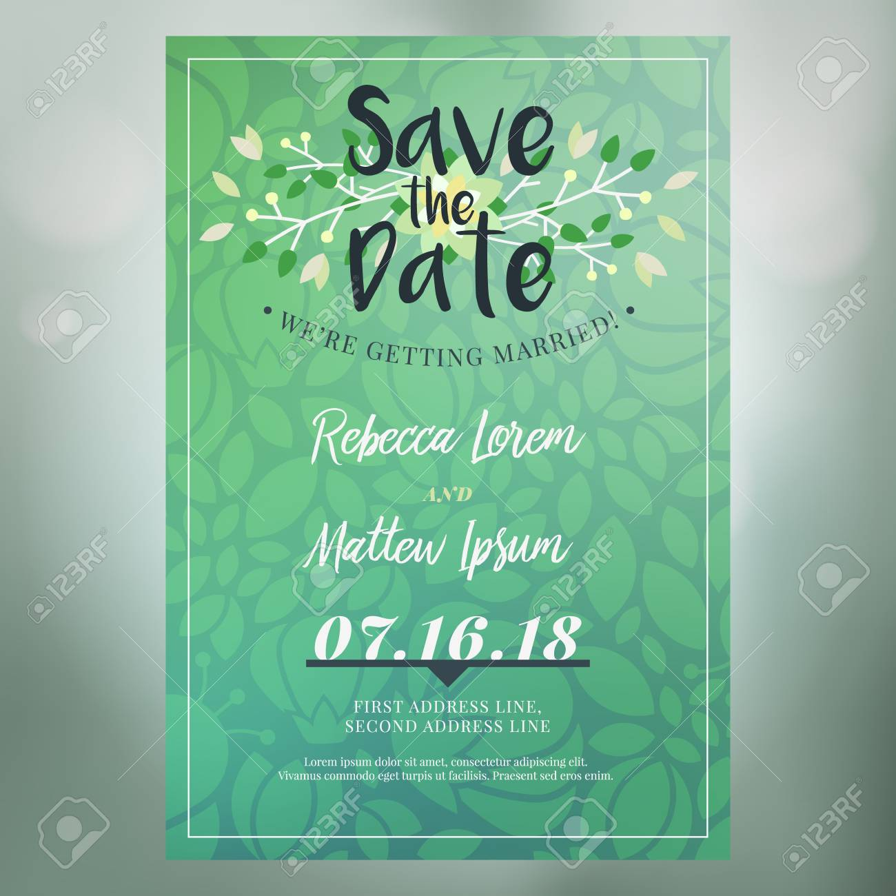 wedding save the date vector.html
